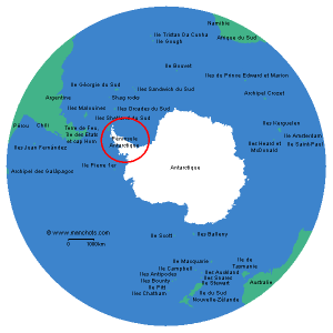 antarctique-peninsule-situation