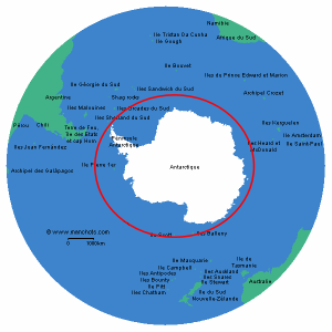 antarctique-situation